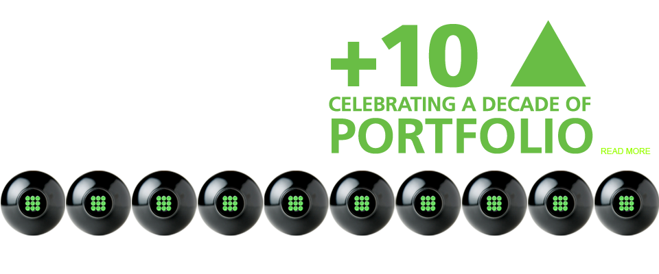 Celebrating a decade of Portfolio